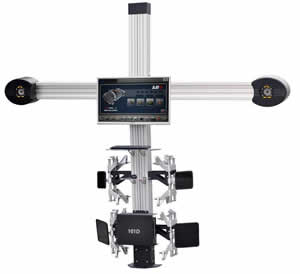Europa 801D Wheel Aligner with HD Camera from Equipment Africa