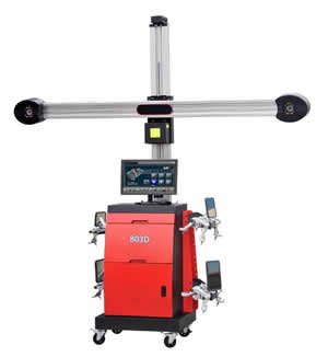 3D Wheel Alignment from Equipment Africa